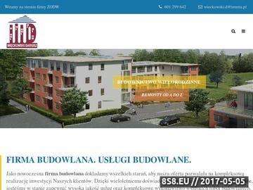 Zrzut strony Firmy budowlane Łódź