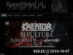 Miniaturka zonemetal.pl (News, wywiady, recenzje, koncerty i relacje)