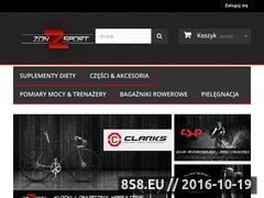 Miniaturka zonsport.pl (Odżywki Sponser, opony Vredestein i Clark's)