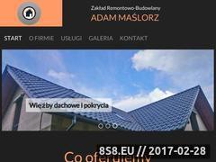 Miniaturka domeny www.zrb-jmaslorz.pl