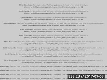 Zrzut strony Z.U.R - usługi brukarskie Czechowice-Dziedzice