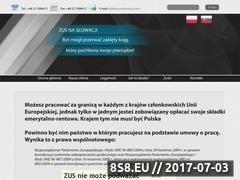 Miniaturka domeny zusnaslowacji.com