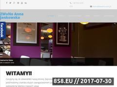 Miniaturka www.zwono.com.pl (Usługi szklarskie)