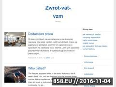 Miniaturka domeny zwrot-vat-vzm.pl