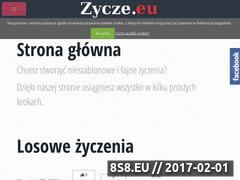 Miniaturka domeny zycze.eu