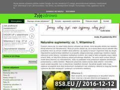 Miniaturka domeny zyjemzdrowo.blogspot.com