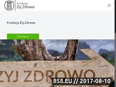 Miniaturka zyjzdrowo.org.pl (Fundacja Żyj Zdrowo Kraków)