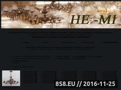 Miniaturka domeny www.zyrandol.pl